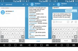 آموزش ساخت پک استیکر تلگرام توسط ربات Stickers