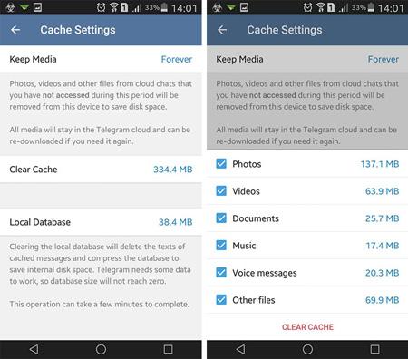 آموزش حل مشکل آپلود عکس و ویدیو در تلگرام+تصاویر